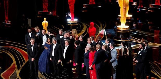 Y la ganadora al Oscar de Mejor Película es... ¡Green Book! | Foto: Reuters