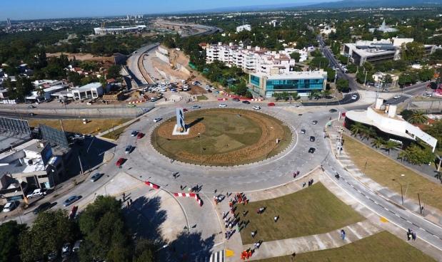 La nueva rotonda de La Mujer Urbana forma parte de nuevas obras viales para  Córdoba  a8b6a754478