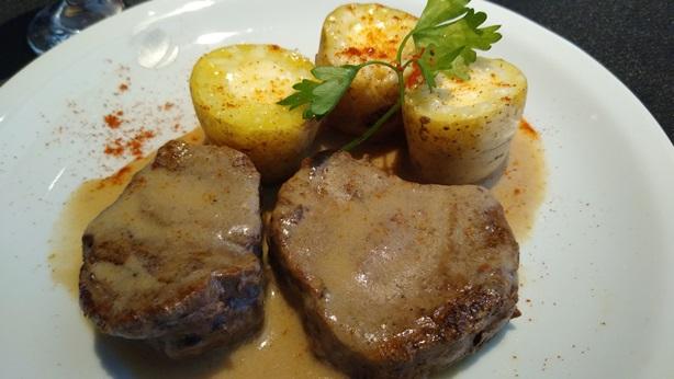 El plato principal del menú del Ciclo de Coyuntura | Foto: Los Turello.