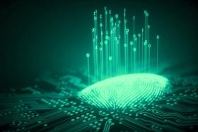 La lectura de huella digital, el método biométrico preferido por los bancos | Ilustración: editada digitalmente en base a imagen publicada por Retina (El País).