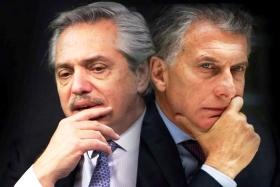 Errores no forzados de Alberto Fernández y Mauricio Macri | Imagen: Clarín.