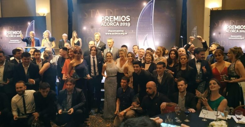Ganadores de los Premios ACORCA 2019 | Foto: Canal C.