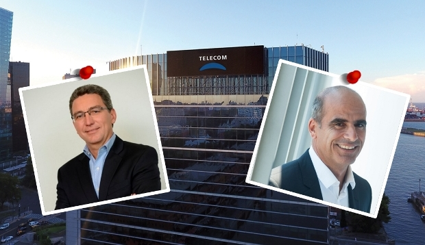 Izquierda: Carlos Moltini - Derecha: Roberto Nobile | Imágenes: prensa Telecom, Twitter e Infobae.