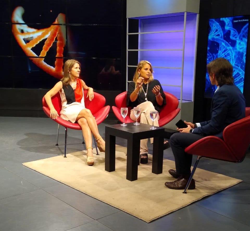 Carla Bidinost y Sabrina Pagnoni, especialistas en genética médica del Sanatorio Allende, en Los Turello.