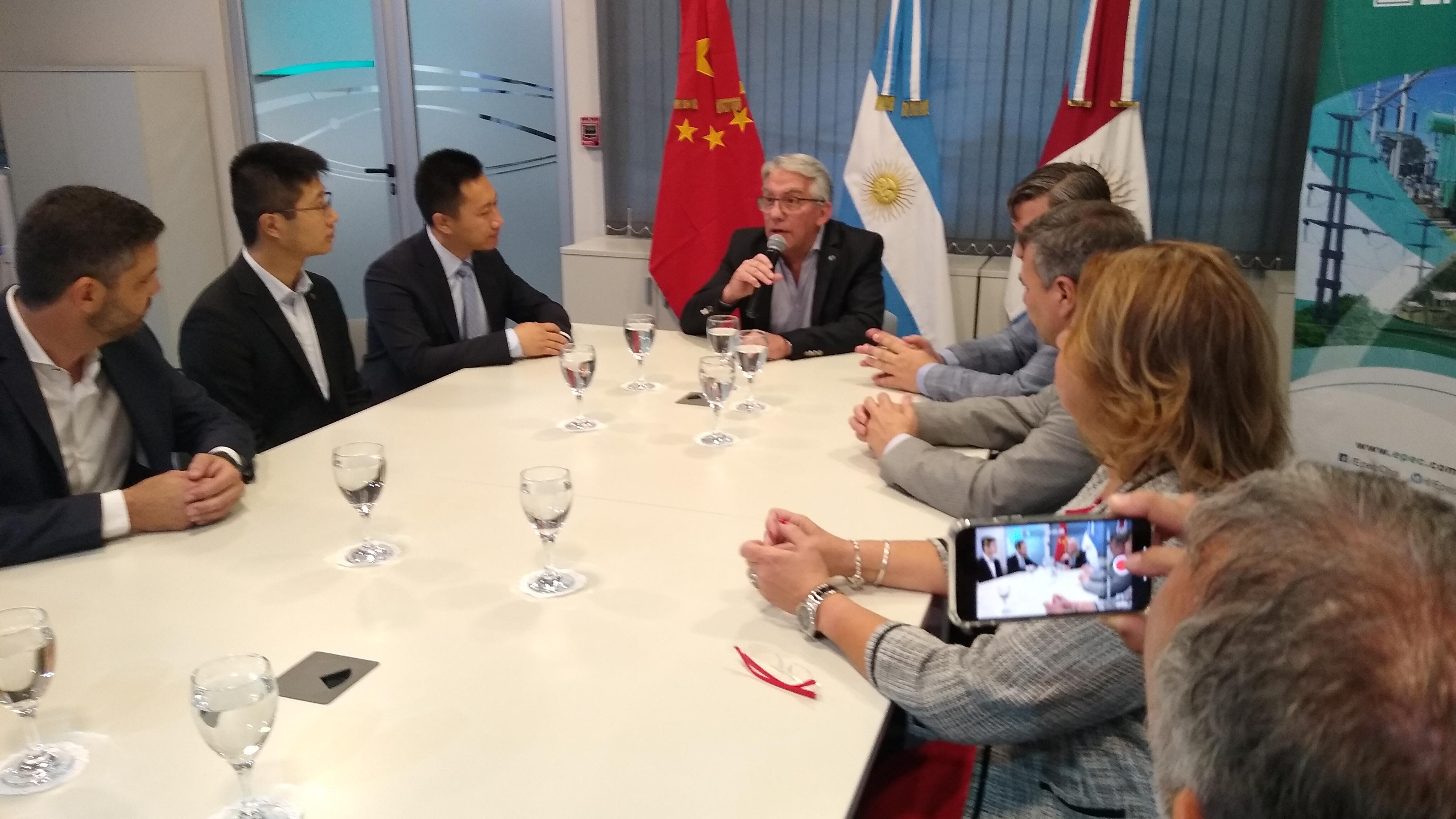 EPEC firmó con Huawei un convenio para la instalación experimental de una antena de comunicación inalámbrica 4G.