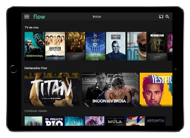 Flow dispone de más de 13 mil horas de contenido on demand.