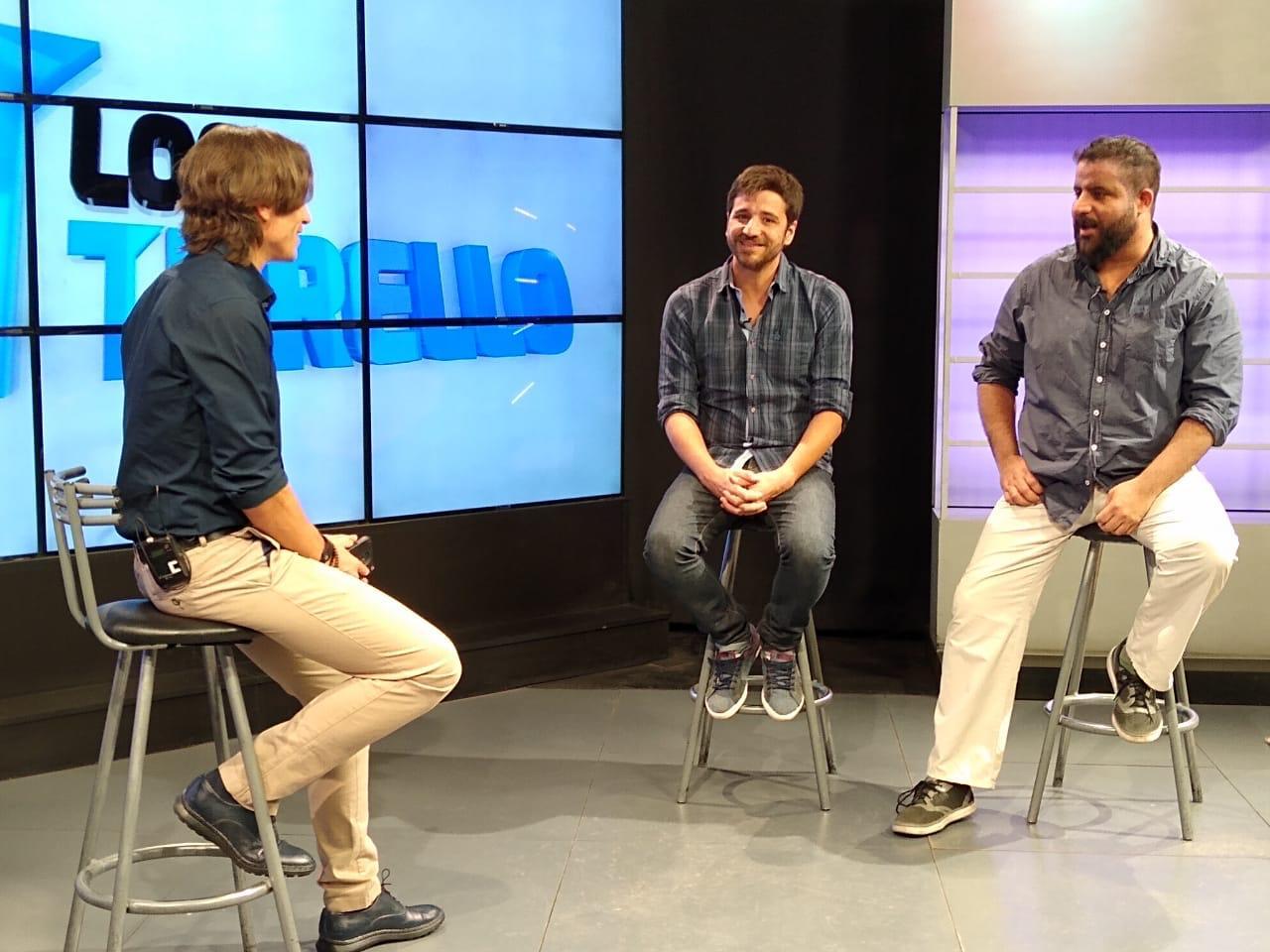 Sebastián Turello entrevista a Alejandro Parise y Henry Vallenilla de Evaluados | Foto: Los Turello.