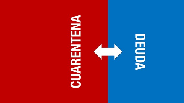 "Cuarentena ""mata"" deuda, por ahora | Imagen: Turello.com.ar"