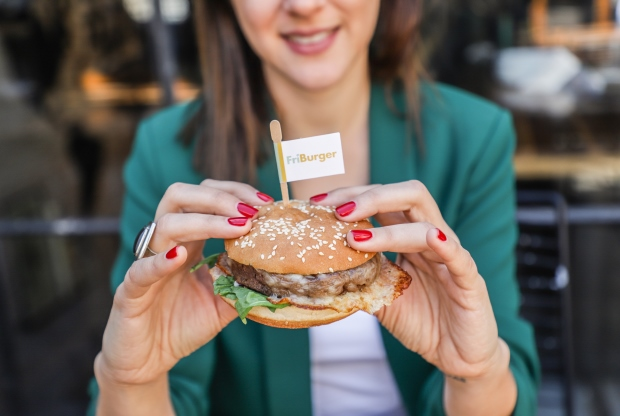 La FriBurger, la hamburguesa veggie de Frizata.