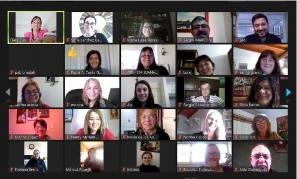 Lanzamiento virtual del programa dirigido a los líderes educativos | Imagen: Fundación Córdoba Mejora.