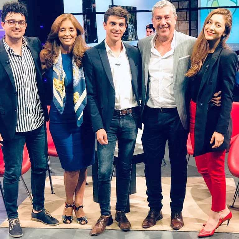 Los Rocha Ferreyra la familia empresaria al frente del Estudio Rocha & Asociados en su paso por Los Turello Plus (Noviembre de 2019).