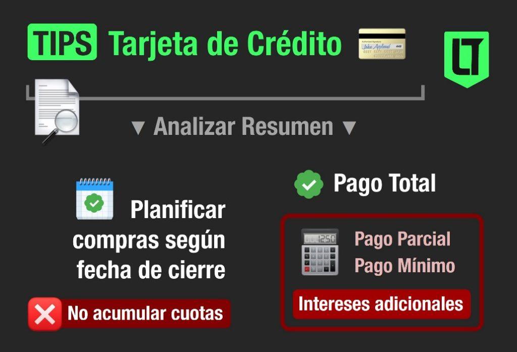 Tarjetas en LTDB | Tips para el uso y el pago de la tarjeta de crédito.