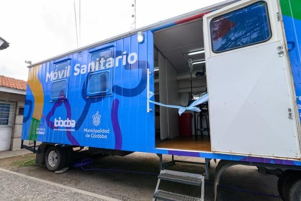 Uno de los dos móviles de castraciones | Foto: Municipalidad de Córdoba.